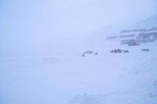 Whiteout in Longyearbyen