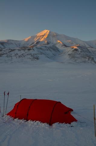 Camping under Elveneset