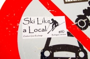 Sticker from Burlington, VT.
